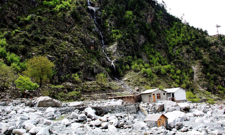 A view of Mankyal, Swat