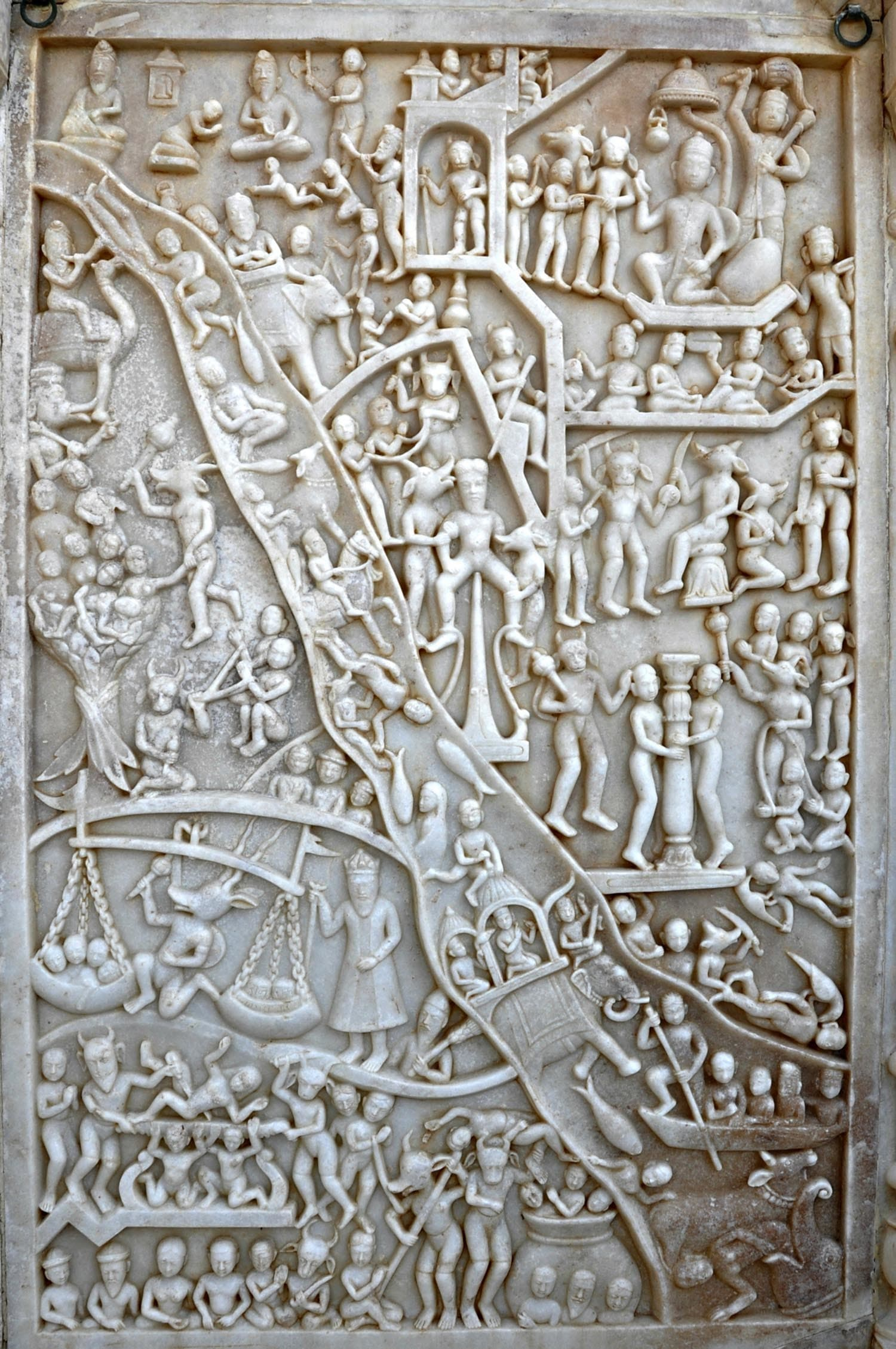 Sadho Belo - Tableaux depicting a scene from hell