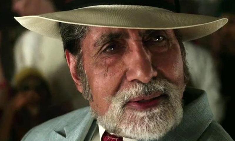 Amitabh Bachchan as Meyer Wolsheim in 'The Great Gatsby'— Photo courtesy: ibnlive