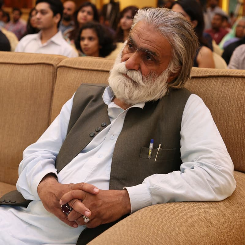 Abdul Qadir is one of the senior-most actors from Quetta who will be seen in Moor — Publicity photo