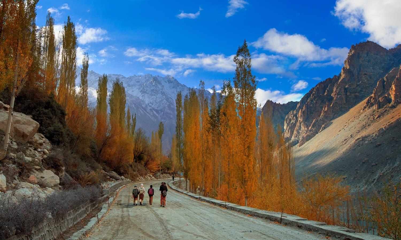 Hussaini Village.
