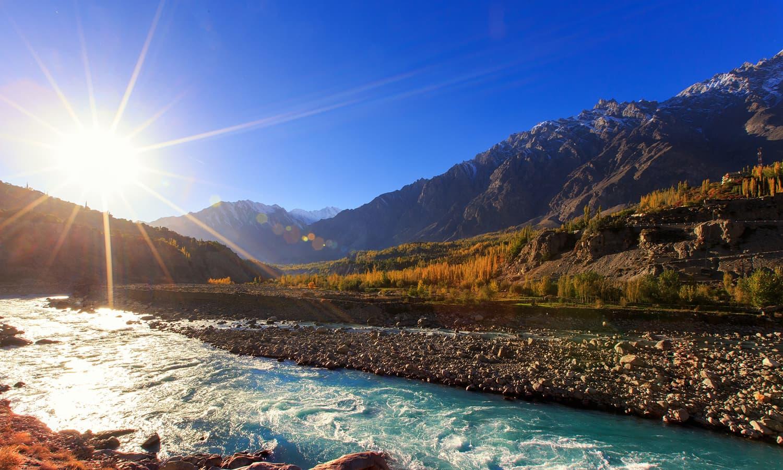 Hunza River, Gojal.