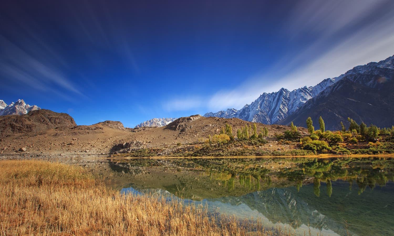 Borath Lake.