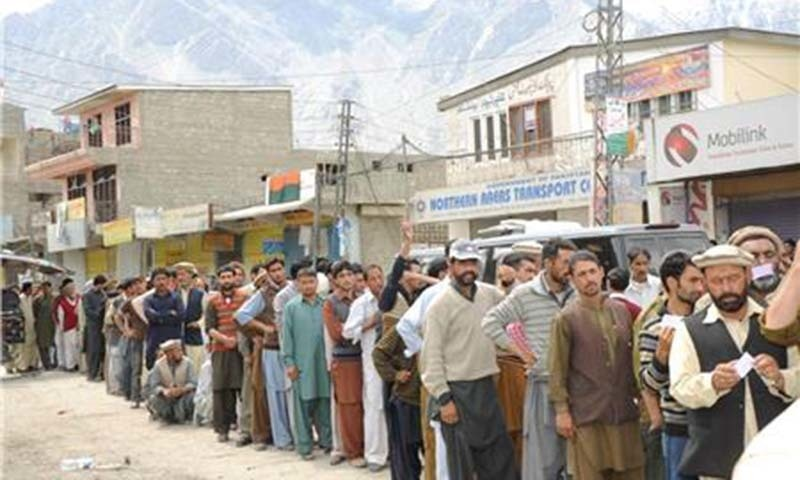 Elections held peacefully with enthusiastic voter participation all over the region