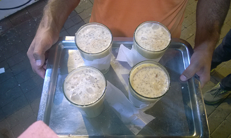 Another one of Lasani's specialities - the rabri milk — Photo by the author