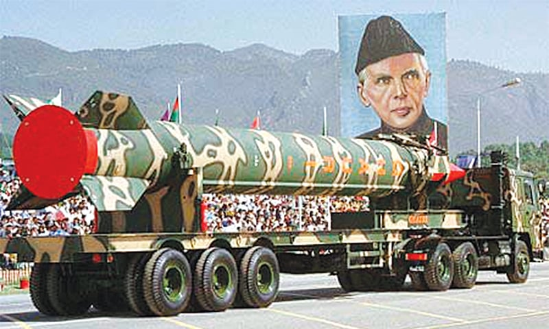 The Ghauri—I missile was successfully tested about a month before Pakistan conducted its nuclear tests in Chagai, Balochistan. It has been in service since 2003.