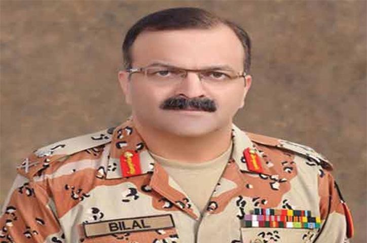 Rangers DG Major General Bilal Akbar