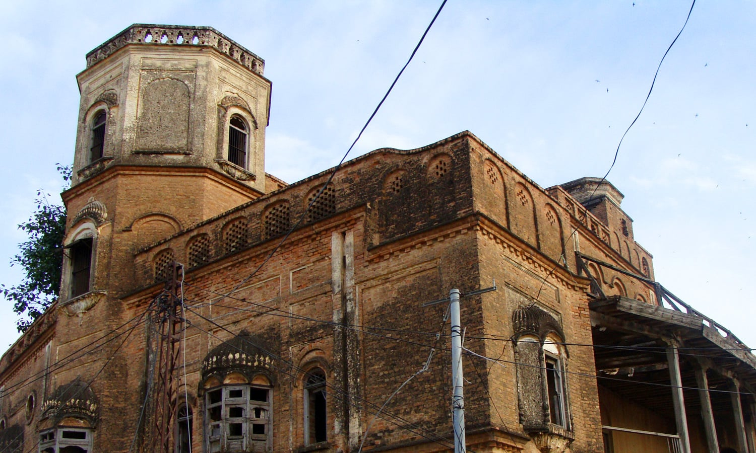 Haveli of Bakhshi Ram singh at Kontrilla.