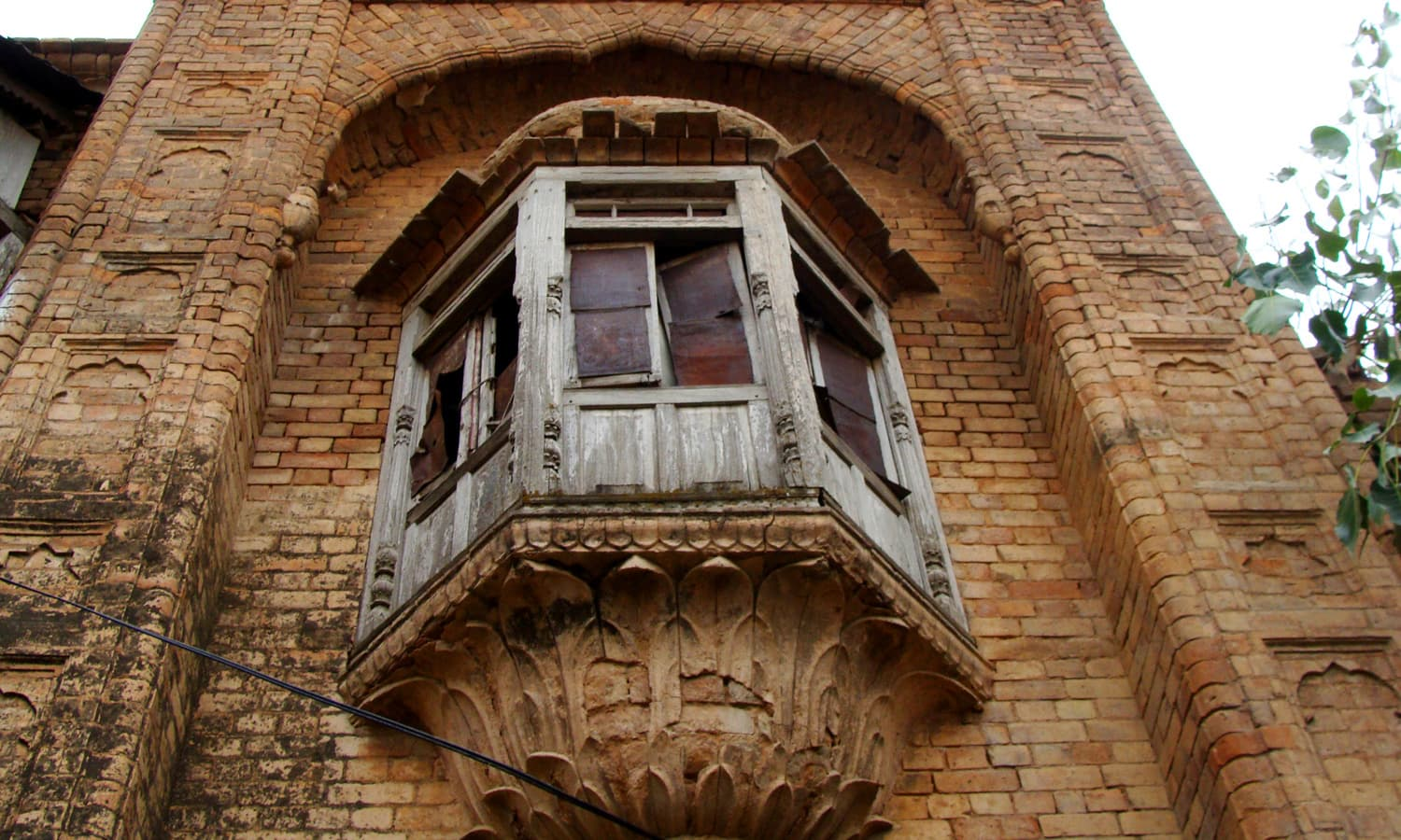 Jharoka in Jeevan Singh haveli in Daultala.