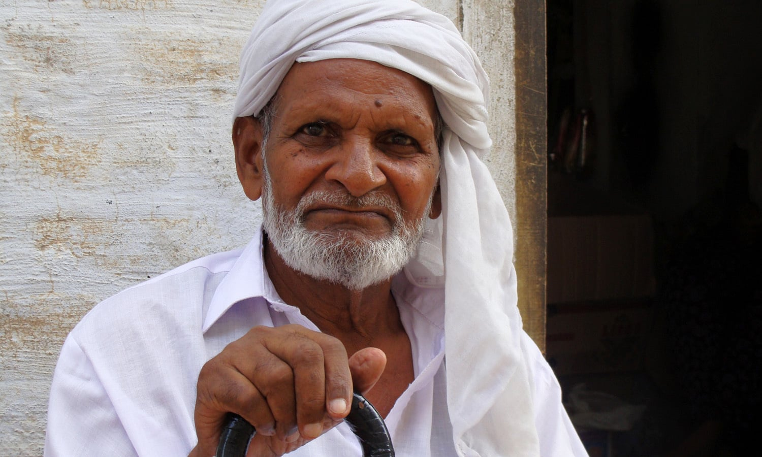 An old man of Kontrilla who narrated the story of the Bakhshi Ram Singh family.