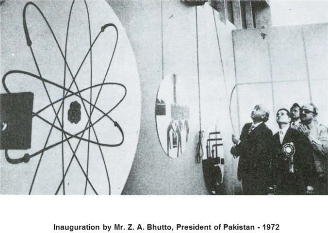 November 28, 1972: President Zulfikar Ali Bhutto inaugurates the first unit of the Karachi nuclear plant