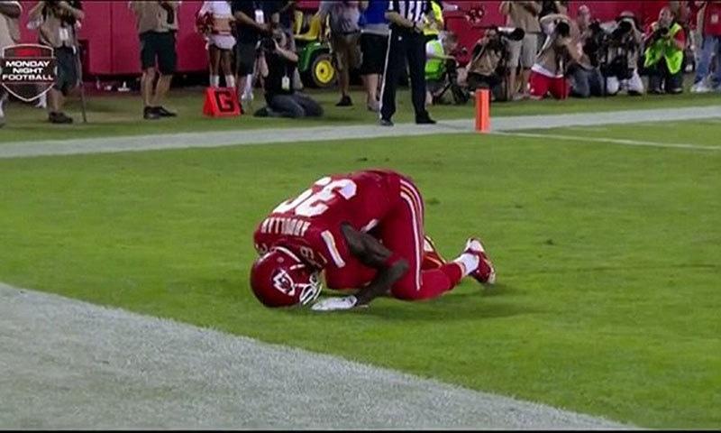 Kansas Chiefs' player, Husain Abdullah.
