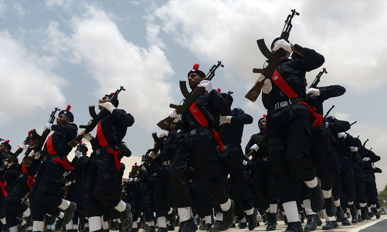 Passing out parade of SSU commandos held in Karachi - Multimedia