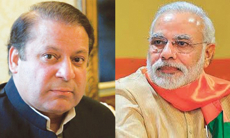 According to a statement issued by PM Office, Indian premier called Nawaz and both leaders spoke for five minutes on  issues of bilateral importance. -AP/File
