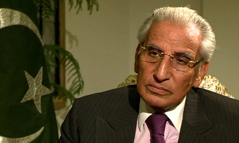 Fatemi's resounding support of the pact is in direct contrast to the suspicions and derision the MoU has garnered on the other side of the Durand Line. — Photo: Radio Pakistan