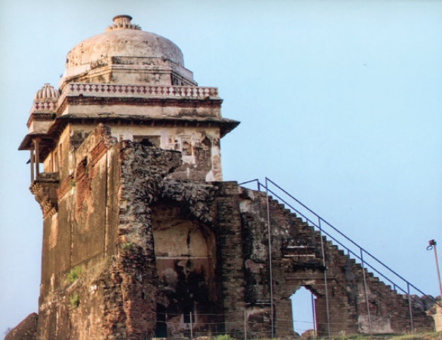 Mann Singh Haveli in Rohtas Fort.