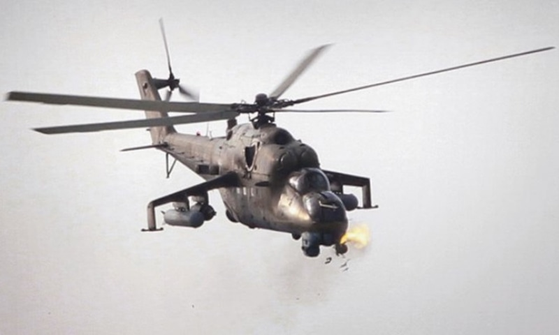 Russia's Foreign Ministry also said that both sides have been negotiating the delivery of helicopters and that Pakistan currently has a number of Mi-17 helicopters delivered by the United States to assist in the fight against militancy.   — AP/file