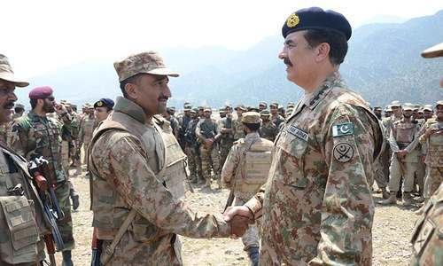 COAS spends first Ramazan with troops in Khyber