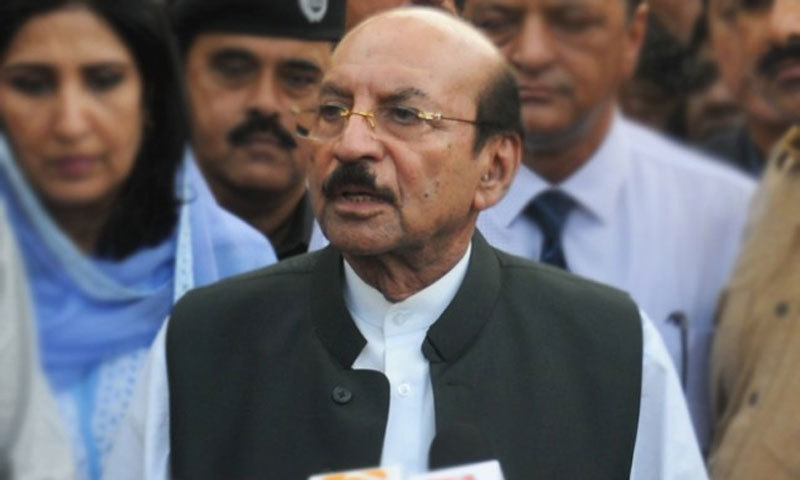The decision to allot land to army was taken during a meeting presided over by Chief Minister Syed Qaim Ali. — APP/File