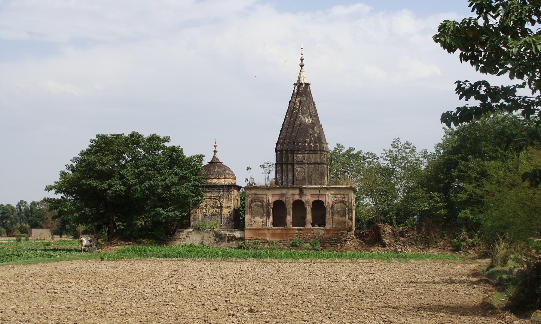 Sikh samadhis in Gulyana.