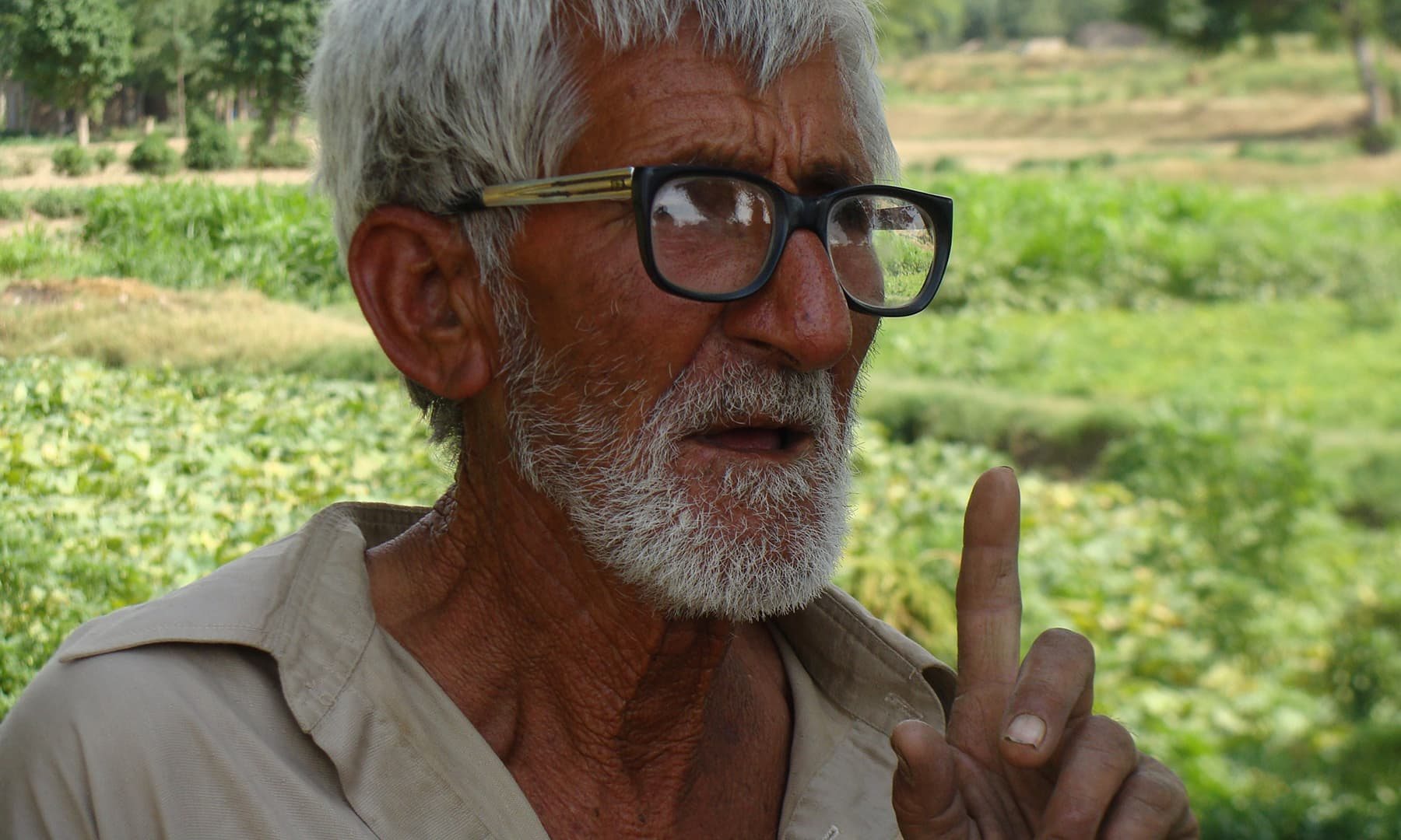 Gulzar Khan of Gulyana Village.