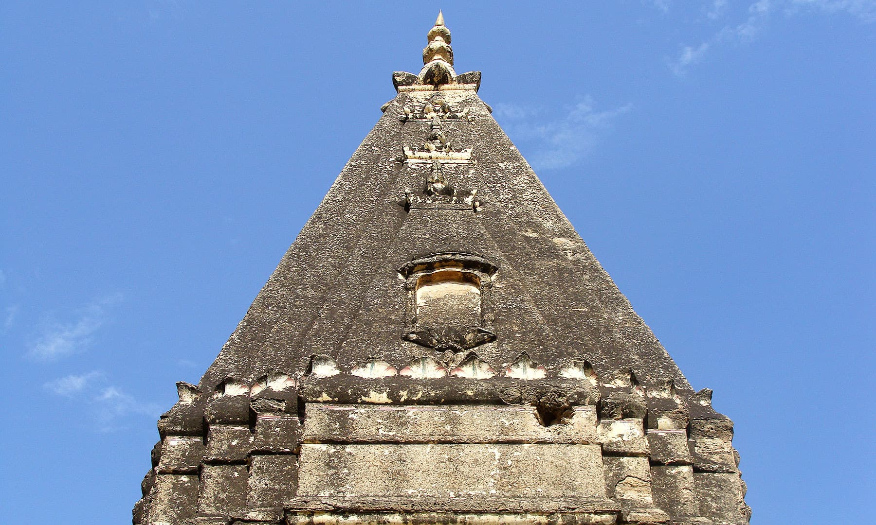 A closer view of the temple.