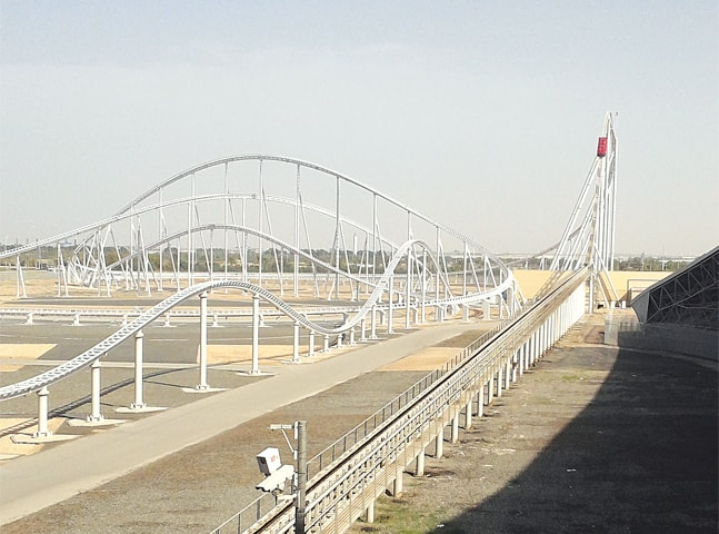 Formula Rossa, time to go up to 240km