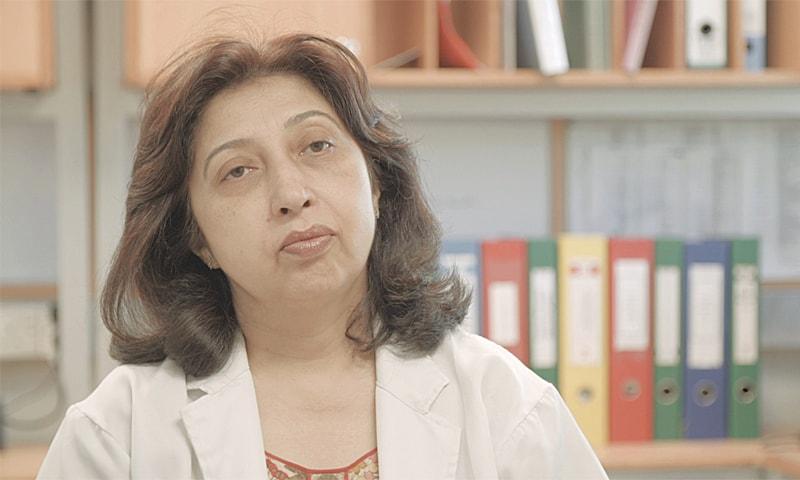 Dr Saba Jamal.—Photo by author