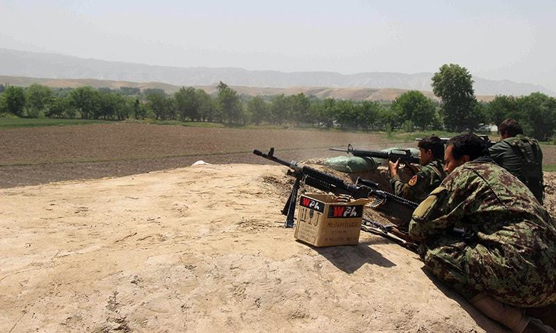 A Taliban-occupied Kabul will threaten Pakistan's security as well. —AFP/File