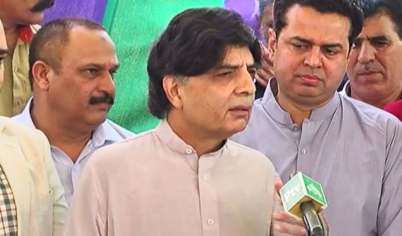 Interior Minister Chaudhry Nisar Ali Khan says NGOs' source of funding and use of funds must be known. — DawnNews screengrab