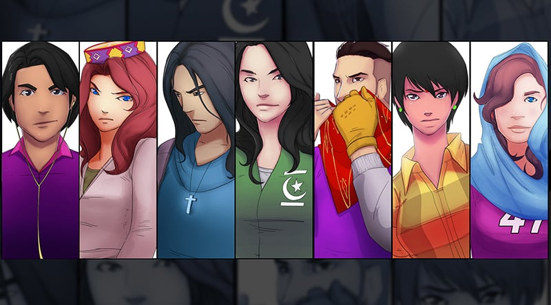 Characters from Team Muhafiz. — Photo courtesy: Facebook
