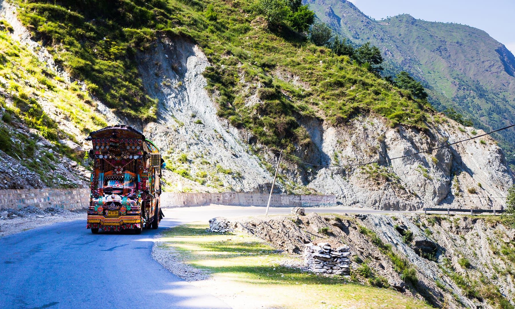 En Route Keran. —Marvi Soomro