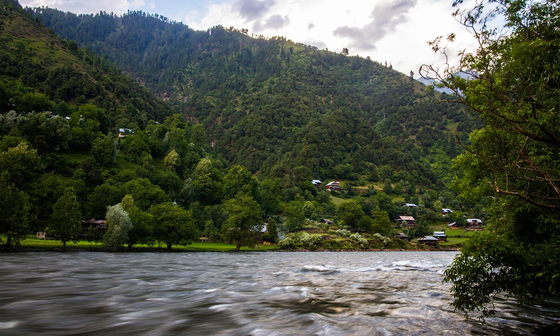 The Keran View Resort. —Marvi Soomro