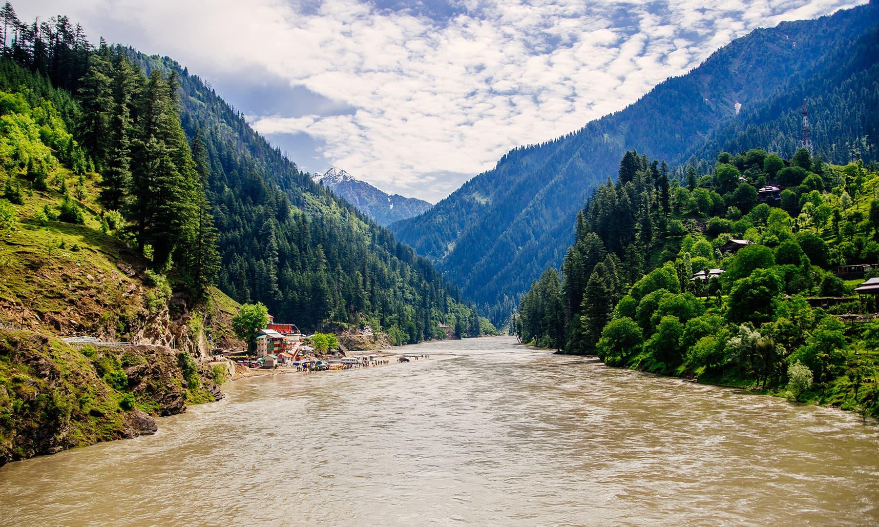 The Neelum River. —Marvi Soomro