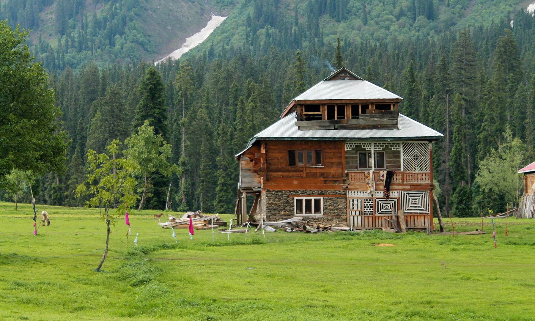 Neelum valley a song of splendour and separation blogs for Home designs kashmir