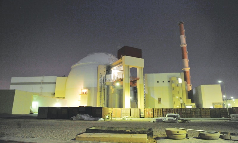 THE Bushehr nuclear power plant in Halileh, Iran.