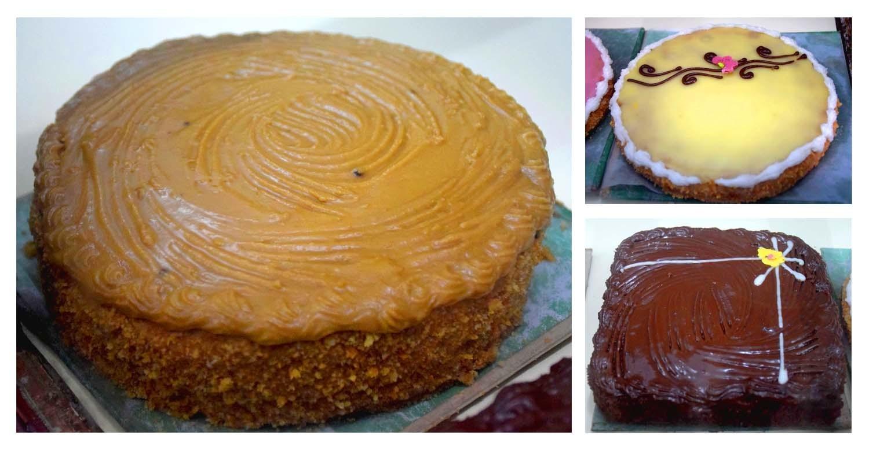 Hyderabad's renowned Bombay Bakery cakes