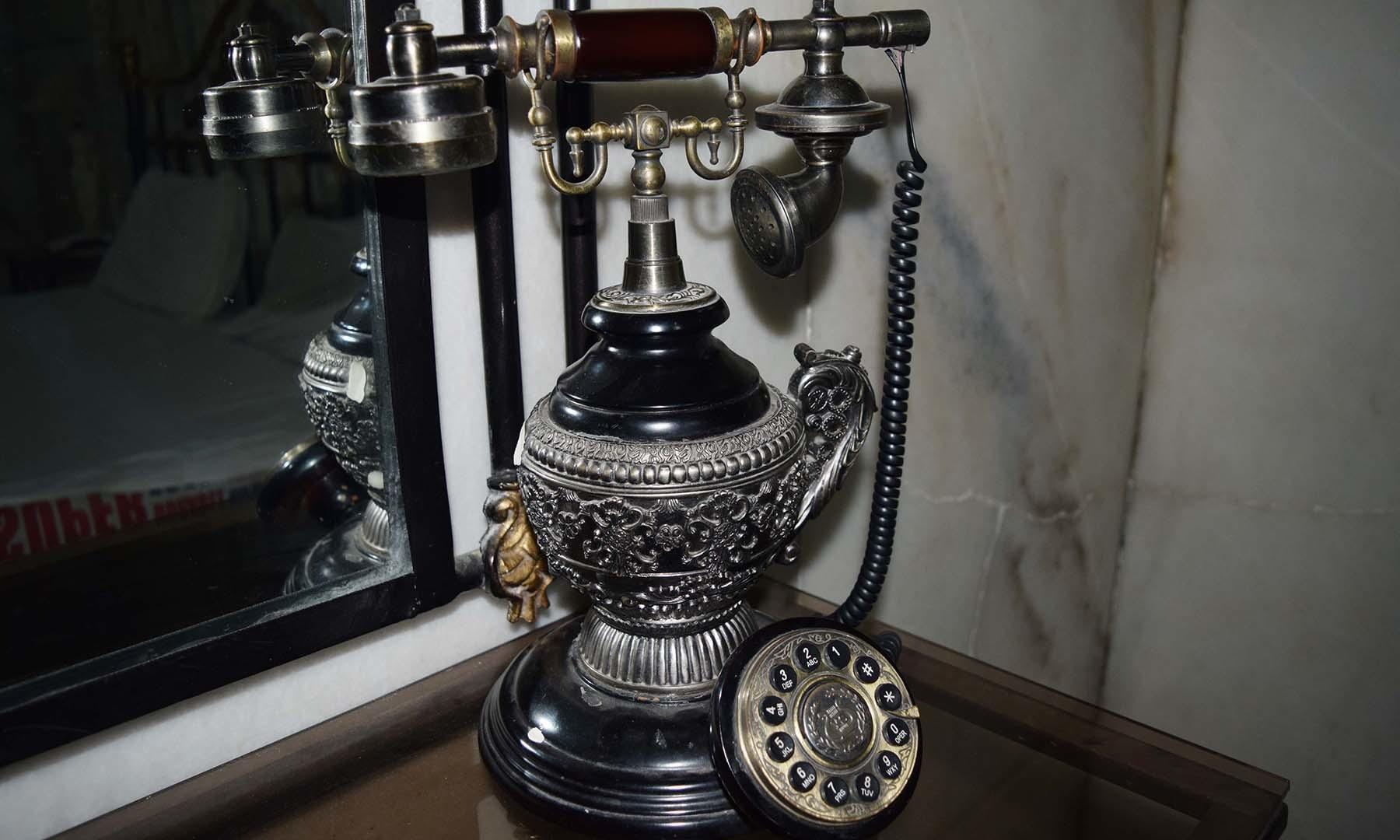 بادشاہ صاحب کا ٹیلی فون۔