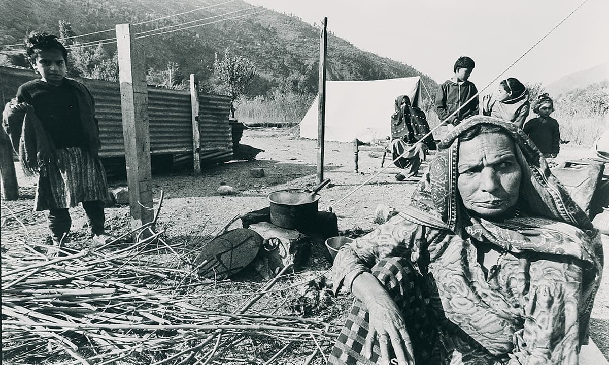 Shelter provided by NGOs after the 2005 earthquake | Arif Mahmood, White Star