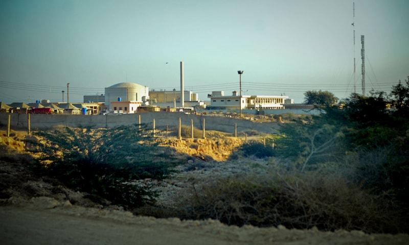 Karachi Nuclear Power Plant (Kanupp), a familiar sight on Karachi's coastline for the last four decades -Fahim Siddiqui/White Star