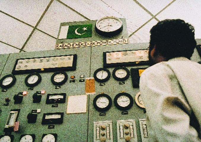 Control room inside Kanupp-I -File photo