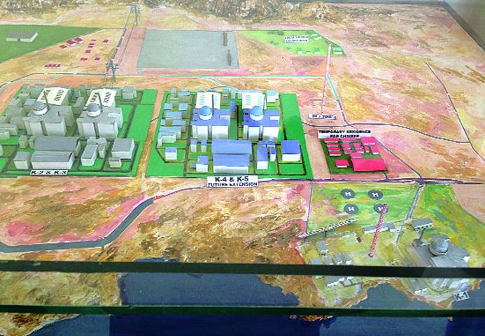 Proposed plan for future nuclear power plants along the Karachi coastline -Alizeh Kohari