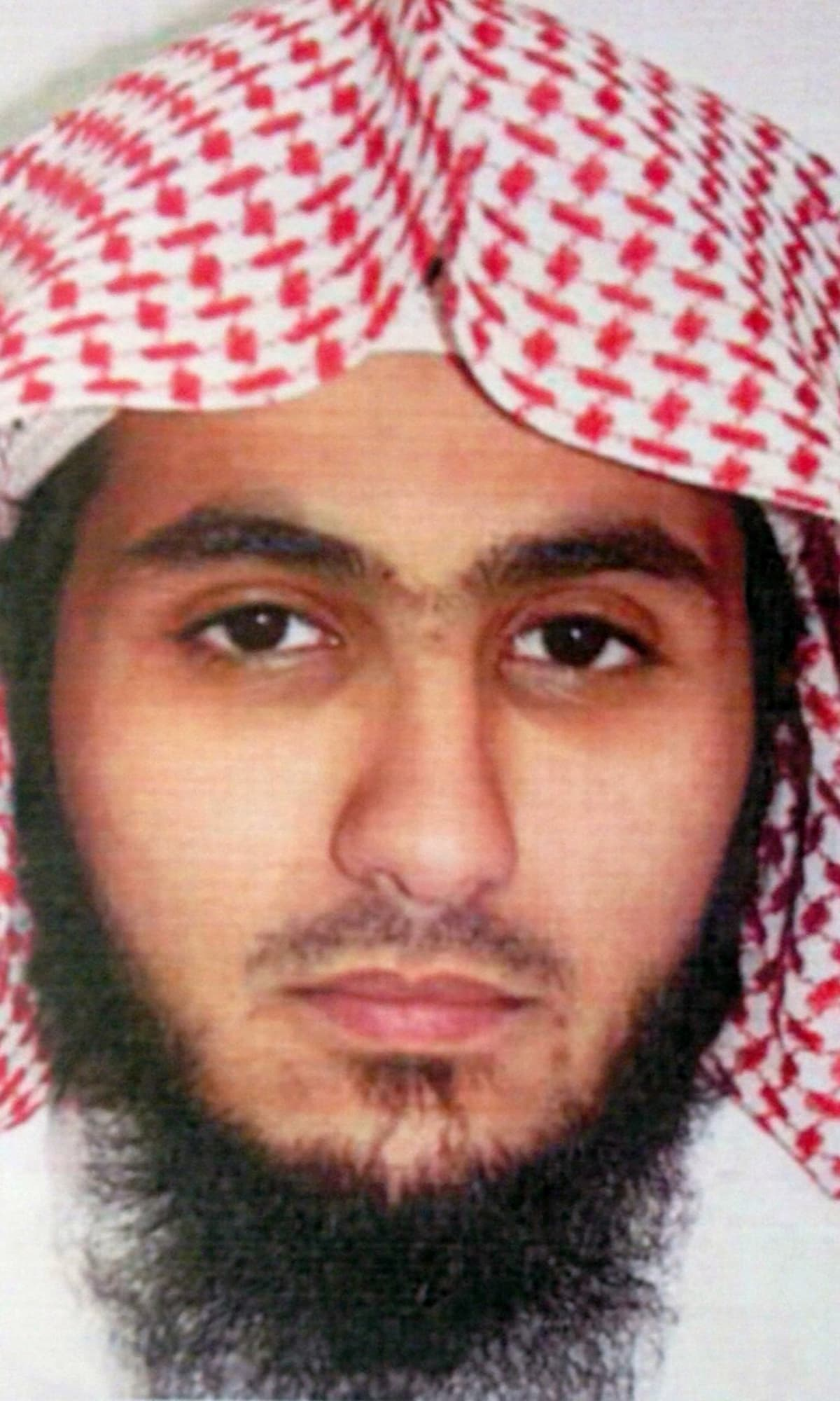 This undated photo released by Kuwait News Agency, KUNA, Sunday, June 28, 2015, shows Fahad Suleiman Abdulmohsen al-Gabbaa, identified as a Saudi citizen who flew into the Gulf nation just hours before he blew himself in an attack on one of Kuwait's oldest Shia mosques during Friday prayers, that killed over two dozen people and wounded over 200.– AP