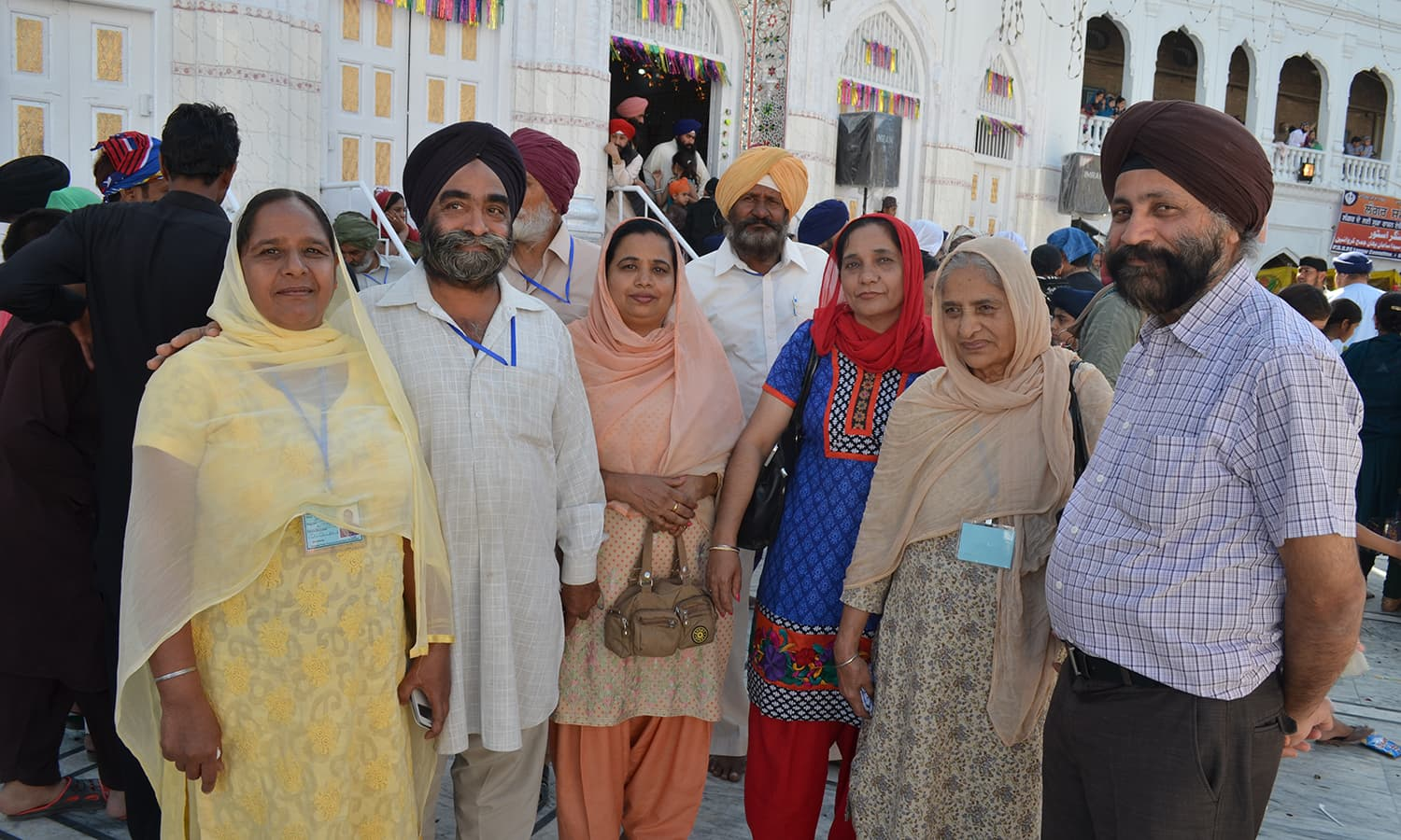 Pertab Singh, 58, is visiting Pakistan with his wife.