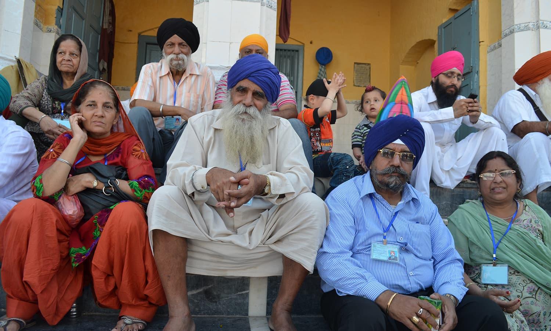 Sohni Ghuman, 74, a resident of Ambala district of Indian Punjab.