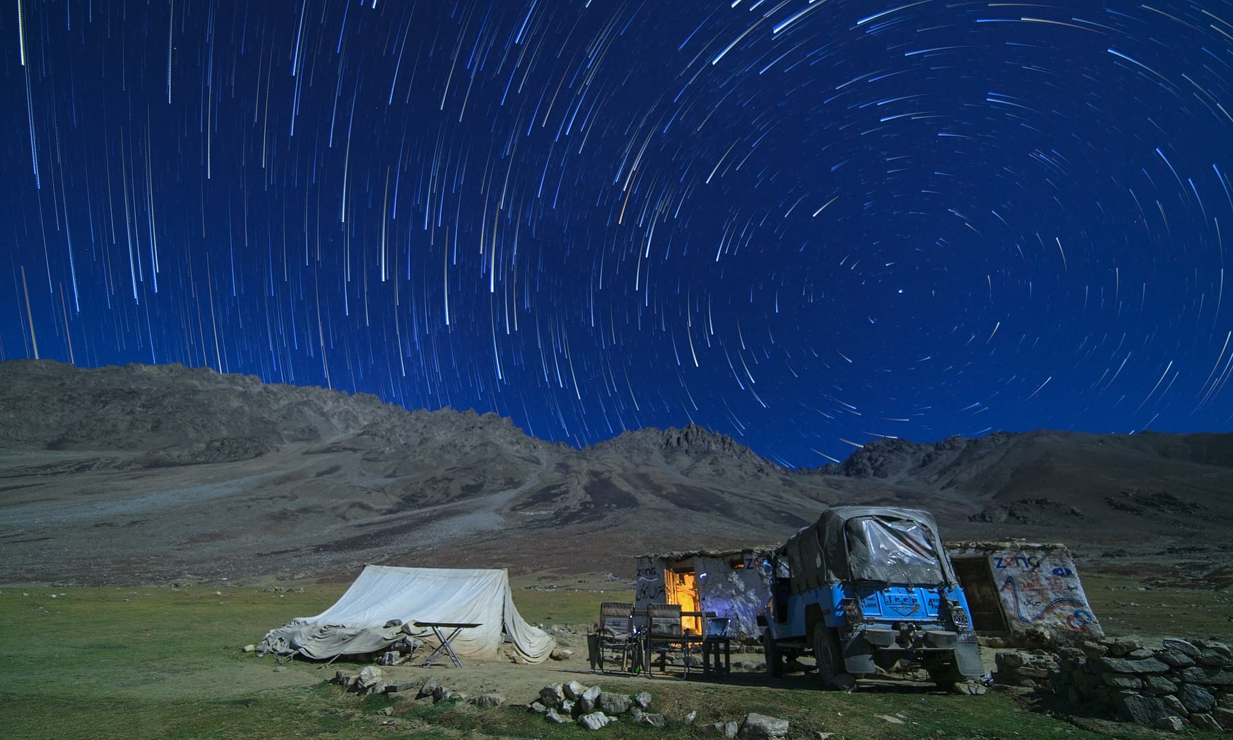 درہ شندور میں رات— سید مہدی بخاری