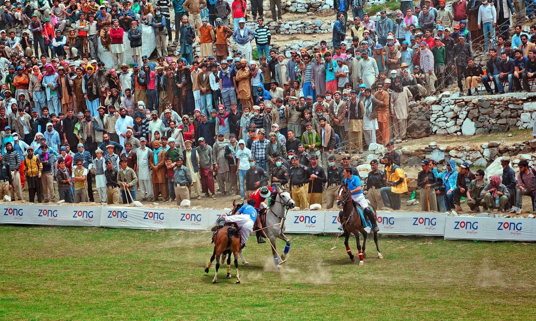 شندور پولو فیسٹیول— سید مہدی بخاری