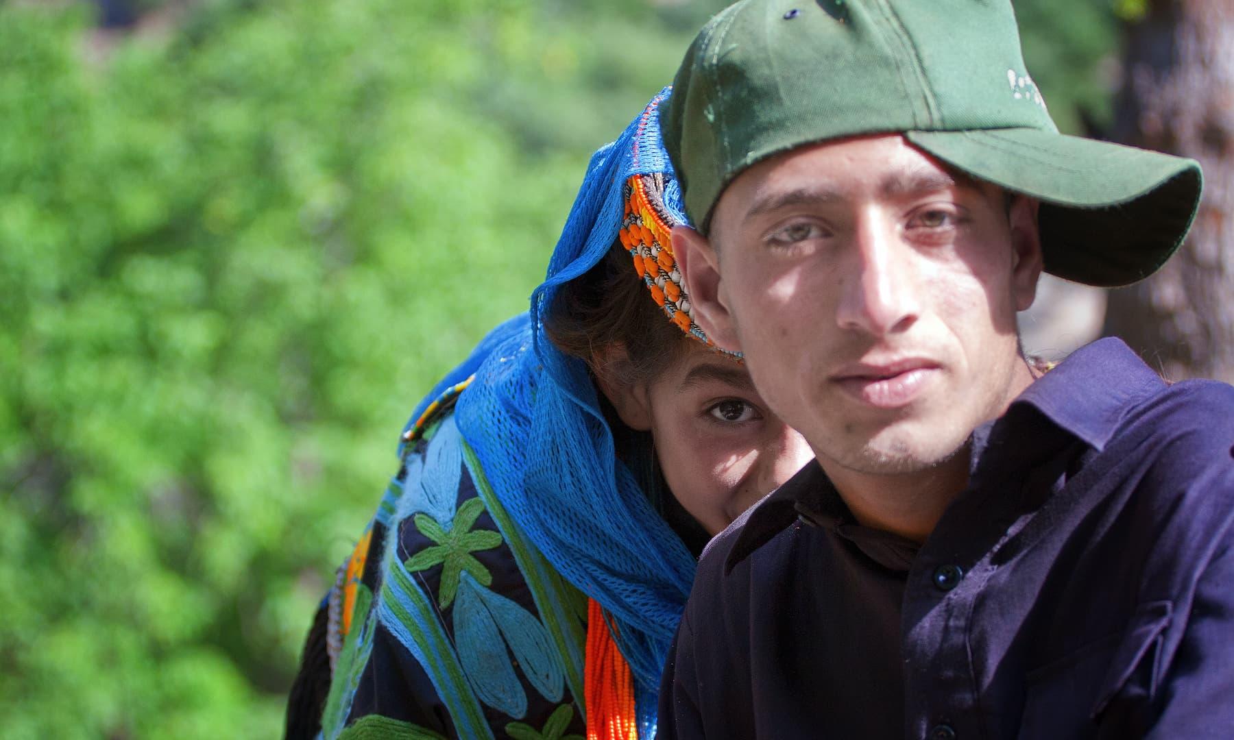 کالاشی بچے— سید مہدی بخاری