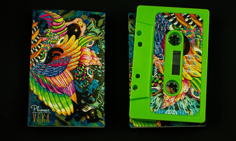 Not only does Hear Now Records release the music of underappreciated artists, but also packages it in beautiful cassette tapes — Photo courtesy Hear Now Record's Facebook page