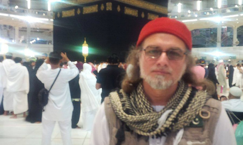 Diplomatic sources had said that Zaid Hamid was arrested last month for making an alleged provocative speech in Madina criticising the Saudi government.  — Photo courtesy Zaid Hamid official facebook page